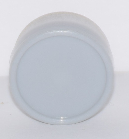 13mm Light Gray Aluminum Plain Flip Off Seals - 25 Pack