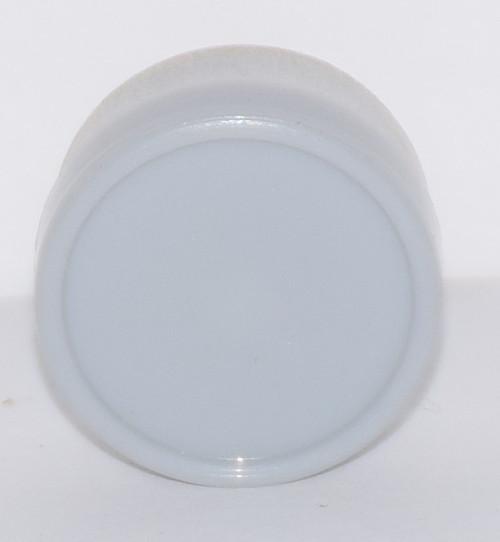 13mm Light Gray Aluminum Plain Flip Off Seals - 100 Pack