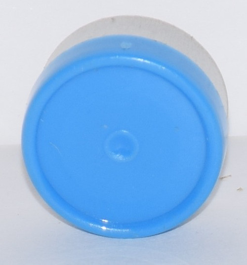 13mm Light Blue Aluminum Plain Flip Off Seals - 100 Pack