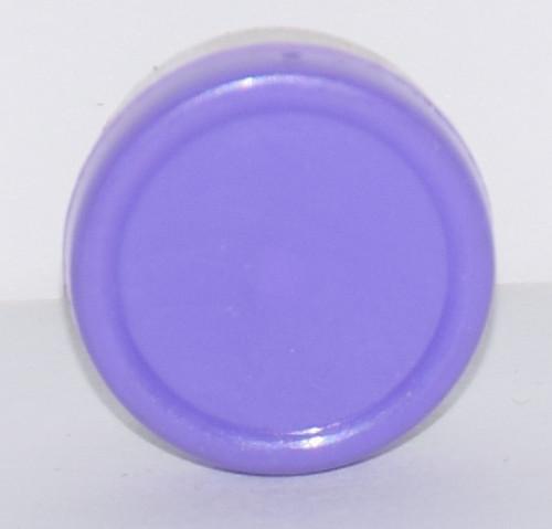 13mm Purple Aluminum Plain Flip Off Seals - 25 Pack