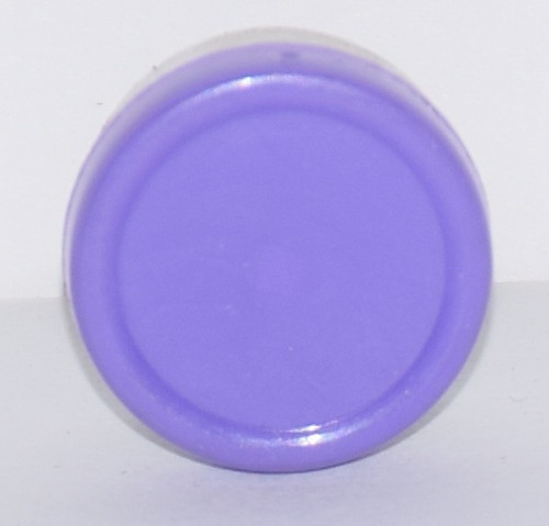 13mm Purple Aluminum Plain Flip Off Seals - 100 Pack
