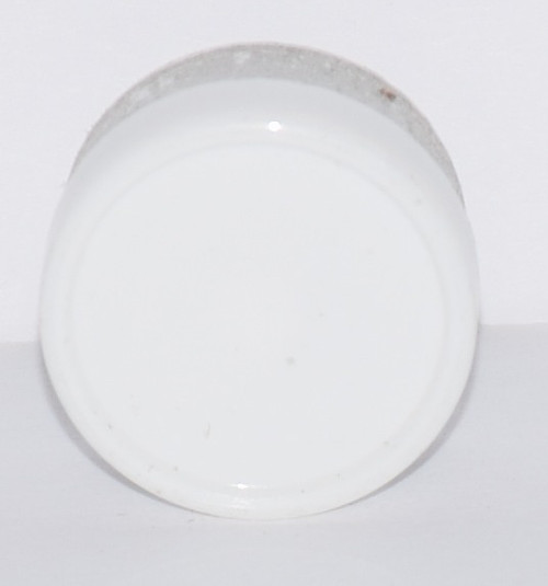13mm White Aluminum Plain Flip Off Seals - 25 Pack