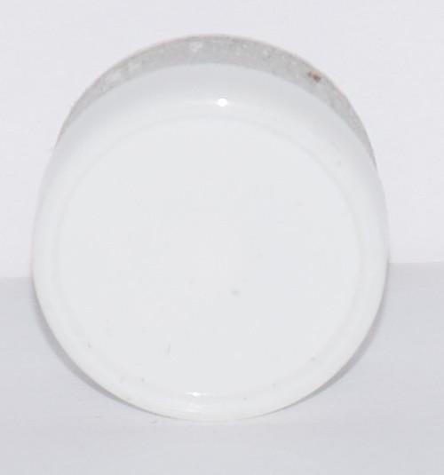 13mm White Aluminum Plain Flip Off Seals - 100 Pack
