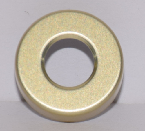 20mm Gold Aluminum Hole Punched Seals - 25 Seals