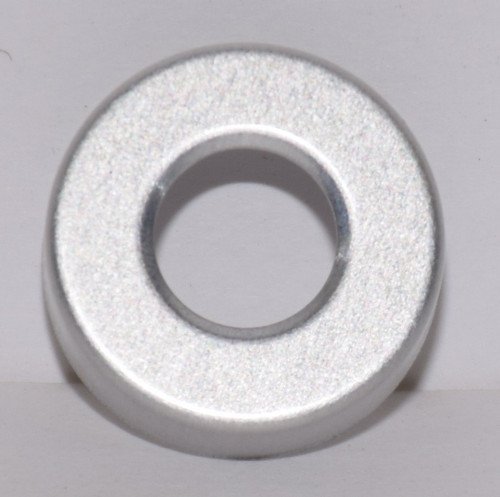 20mm Natural/Silver Aluminum Hole Punched Seals - 100 Seals