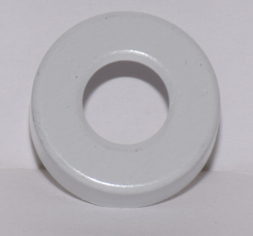 20mm White Aluminum Hole Punched Seals - 100 Seals