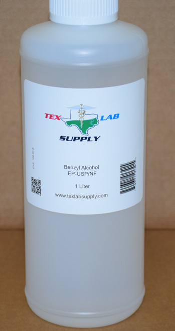Benzyl Alcohol EP/USP/NF 1 Liter (32 Fl. Oz.)
