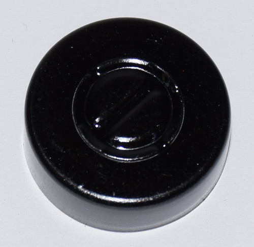 20mm Black Aluminum Center Tear Seals - 50 Pack
