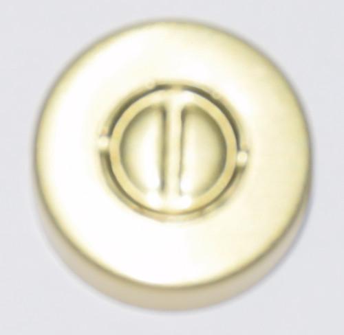 20mm Gold Aluminum Center Tear Seals - 100 Pack
