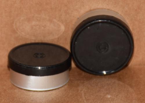 20mm Black Aluminum Plain Flip Off Seals - 50 Pack