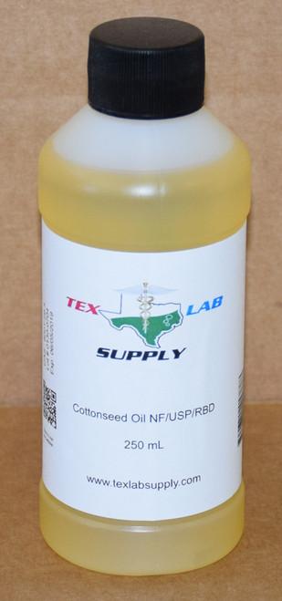 Cottonseed Oil NF⁄USP⁄RBD 250 mL (8 Fl. Oz.)
