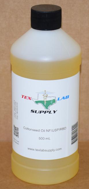 Cottonseed Oil NF⁄USP⁄RBD 500 mL (16 Fl. Oz.)