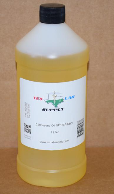 Cottonseed Oil NF⁄USP⁄RBD 1 Liter (32 Fl. Oz.)