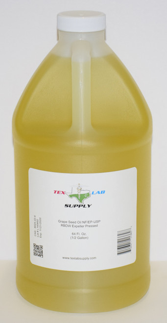 Grape Seed Oil NF/USP/RBDW/EP 1/2 Gallon (64 Fl. Oz.)