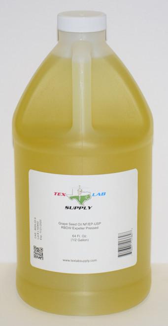 Grape Seed Oil NF/USP/RBDW/EP 1/2 Gallon (64 Fl. Oz.)