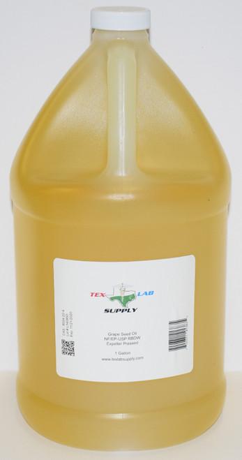 Grape Seed Oil NF/USP/RBDW/EP 1 Gallon (128 Fl. Oz.)