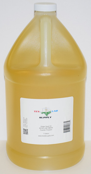 Grape Seed Oil NF/USP/RBDW/EP 1 Gallon (128 Fl. Oz.)