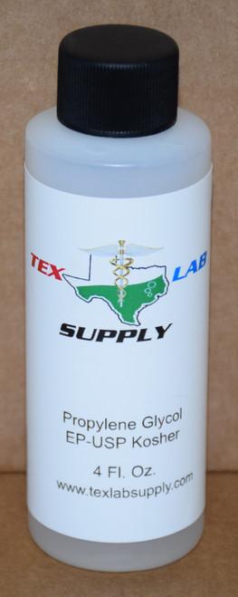 Propylene Glycol (PG) NF/FCC/EP/USP/Kosher 4 Fl. Oz. (120 mL)