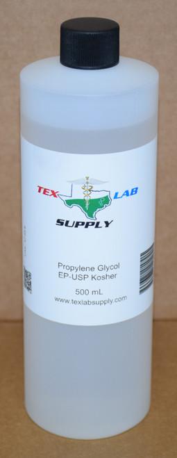 Propylene Glycol (PG) NF/FCC/EP/USP/Kosher 500 mL (16 Fl. Oz. )
