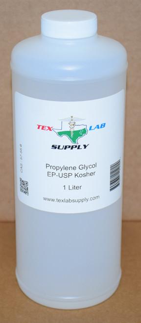 Propylene Glycol (PG) NF/FCC/EP/USP/Kosher 1 Liter (32 Fl. Oz. )