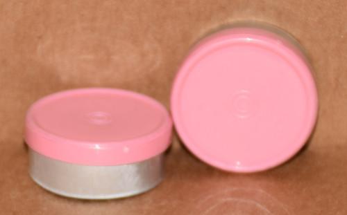 20mm Baby Pink Aluminum Plain Flip Off Seals - 100 Pack