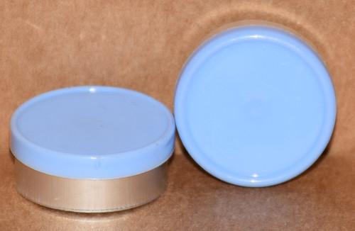 20mm Meadow Blue Aluminum Plain Flip Off Seals - 100 Pack (Discontinued)