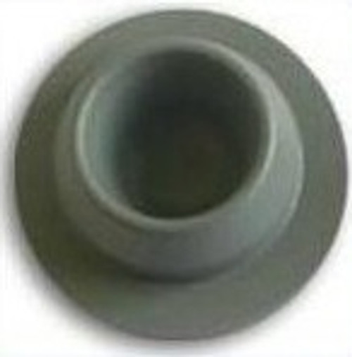 20mm Gray Vial Stopper, Round Pack of 100
