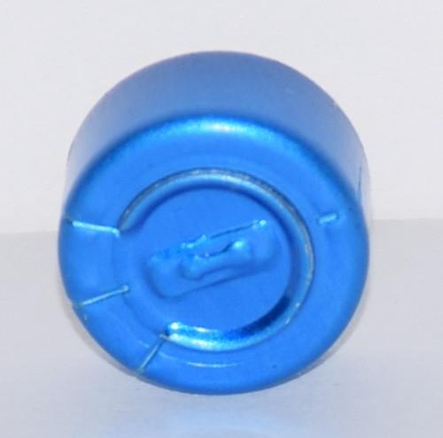 13mm Blue Complete Tear Off Seals - 100 Pack