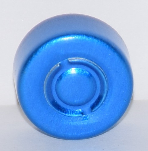 13mm Blue Center Tear Seals - 100 Pack