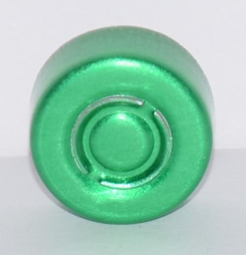 13mm Green Center Tear Seals - 100 Pack