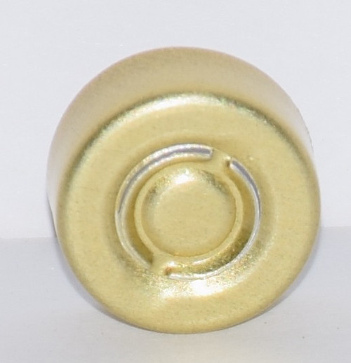 13mm Gold Center Tear Seals - 50 Pack