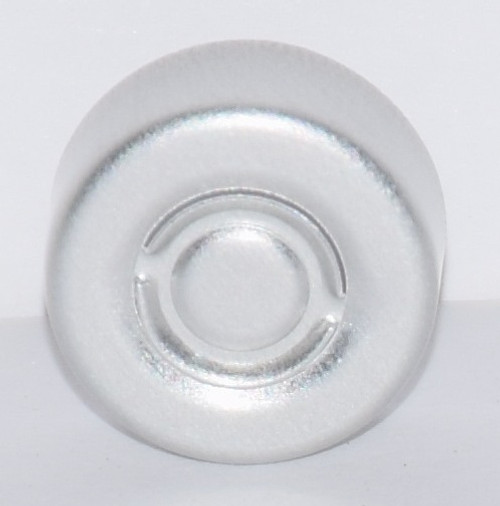 13mm Natural/Silver Center Tear Seals - 25 Pack