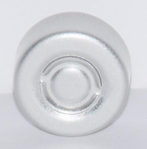 13mm Natural/Silver Center Tear Seals - 50 Pack