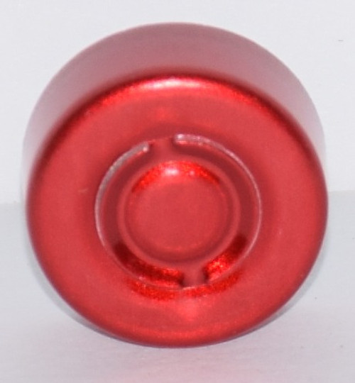 13mm Red Center Tear Seals - 100 Pack