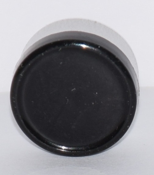 13mm Black Aluminum Plain Flip Off Seals - 100 Pack