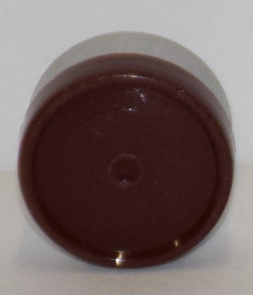 13mm Brown Aluminum Plain Flip Off Seals - 50 Pack