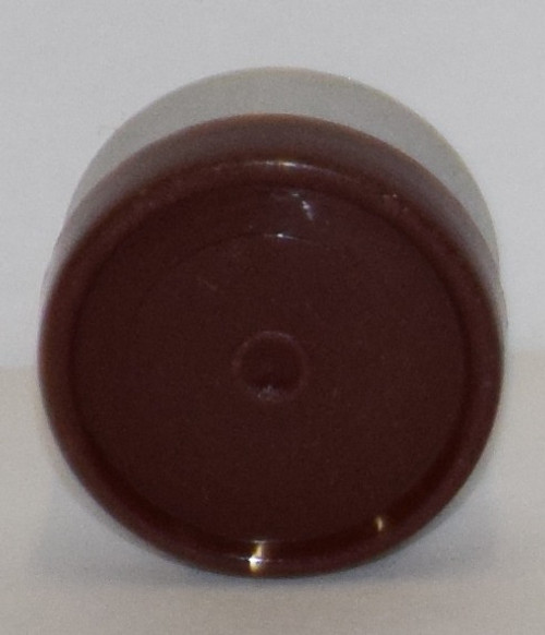 13mm Brown Aluminum Plain Flip Off Seals - 100 Pack