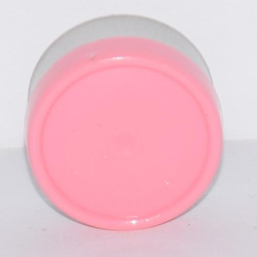 13mm Baby Pink Aluminum Plain Flip Off Seals - 25 Pack