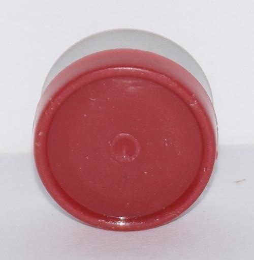 13mm Brick Red Aluminum Plain Flip Off Seals - 25 Pack