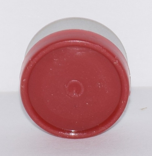 13mm Brick Red Aluminum Plain Flip Off Seals - 50 Pack