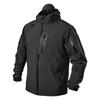 tactical waterproof jacket black