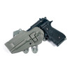 foliage green strike platform with serpa holster - beretta only