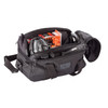 74RB02BK - Sportster™ Pistol Range Bag - Packed Image (items in bag not included)