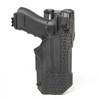 44N600 - T-Series L3D Light Bearing Holster - Basketweave - main image with Glock 17