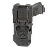 44N600 - T-Series L3D Light Bearing Holster - Basketweave - back image with Glock 17