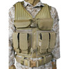 30EV03DE - Omega Elite™ Tactical Vest #1 - Coyote Tan