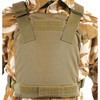 32PC - LOW VIS PLATE CARRIER - COYOTE TAN