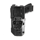 t-series l3d light-bearing duty holster back
