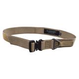 coyote tan rigger's belt w/cobra buckle