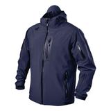 tactical waterproof jacket navy